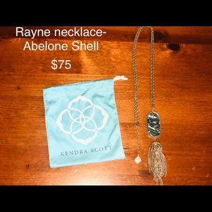 Kendra Scott Rayne necklace- Abelone Shell